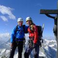 Gipfel Zinalrothorn
