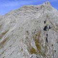 Felstürme am Grat hinauf zum Bettelwurf