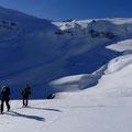 Aufstieg Steghorn