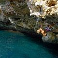 """I live in a cave"" in Porto Colom"