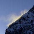 Schneefahne am Grossstubel