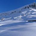 kurz oberhalb der Drusenberghütte