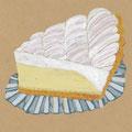 赤坂 しろたえ の「レモンチーズパイ」