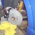 256x24mm Bremsanlage