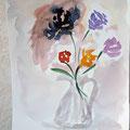 Un autre vase : reprise d'une erreur sur la fleur de gauche