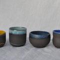 Petites tasses / Collection Géométrie / Céramiques ©LIT Au Grès d'Émaux