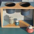 Etagère pots suspendus / Collection Géométrie / Céramiques ©LIT Au Grès d'Émaux