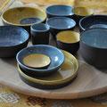 Petits ramequins apéritifs / Collection Monochrome / Céramiques ©LIT Au Grès d'Émaux