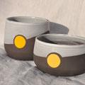 Pots / Collection Géométrie / Céramiques ©LIT Au Grès d'Émaux