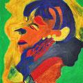 Portrait, 42x56cm, Öl