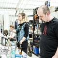 Tag 1: Am Lohnzeichnergildenstand - Foto: Marc Daniel Mühlberger