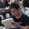 Tag 1: Marc, konzentriert - Foto: Katharina Acht