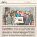 Bericht in den Steyrer TIPS, April 2015