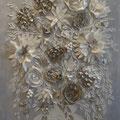 """""""Bouquet gris"""" 120x80"""