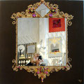 "Mirror ""Empire"" choco 80x80"