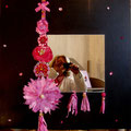 """Indes galantes"" mirror 60x70 star"