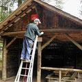 Réparation Abri du Birkenfels