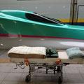 介護タクシー北斗 東北新幹線 多目的室送迎 寝台ストレッチャー