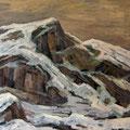 047 Gebirge im Schnee 102x74
