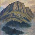 069 «Burg» mit Nebel 57x78