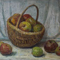 201 Stillleben mit Äpfeln 55x42
