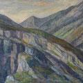 054 Gebirge bei Grimsel 101x80