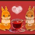 紅茶とうさぎ