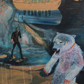 *polarbear*, öl udn acryl auf mdf-platte, ca. 120x 160 cm