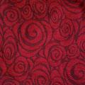 Spirale Rot/Schwarz