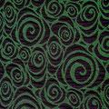 Spirale Schwarz/Grün