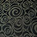 Spirale Schwarz/Nougat