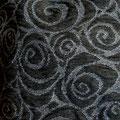 Spirale Grau/Schwarz