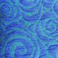 Spirale Blau/Brasilgrün
