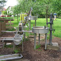 Pumpbrunnen & Wasserspiel