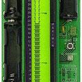 <b>LCD-Thermometer</b><br />Anzeige als Simulation eines klassischen Thermometers mit Flüssigkeitsröhrchen. Digitaler Temperatursensor