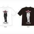 BlueHawaiiSurfTシャツデザイン