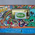 美容室ARiE 壁画