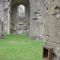 Ruinen der Kirche
