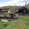 Oberbau - Reste eines Beobachtungsturms