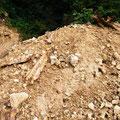 An dieser Stelle wird gegraben