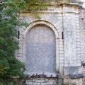 Der zugemauerte Eingang