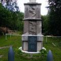 Restauriertes deutsches Monument