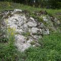 Reste der Wallgrabenmauer