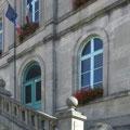 Die Treppe zum Haupteingang. Souilly liegt etwa 20 km südlich von Verdun an der Voie Sacree