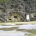 Die Kasematten des Forts