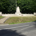 Gedenkstätte für die in dem Wald gefallenen Soldaten aus Driants Jägerregimentern