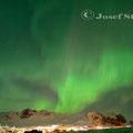 Polarlicht über Vik