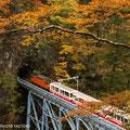 富山、黒部峡谷鉄道 THE KUROBE GORGE RAILWAY in Toyama pref.