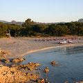 Bucht mit Beachfeldern