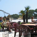 Bar mit Strandsicht